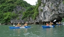 kayaking in halong bay vietnam